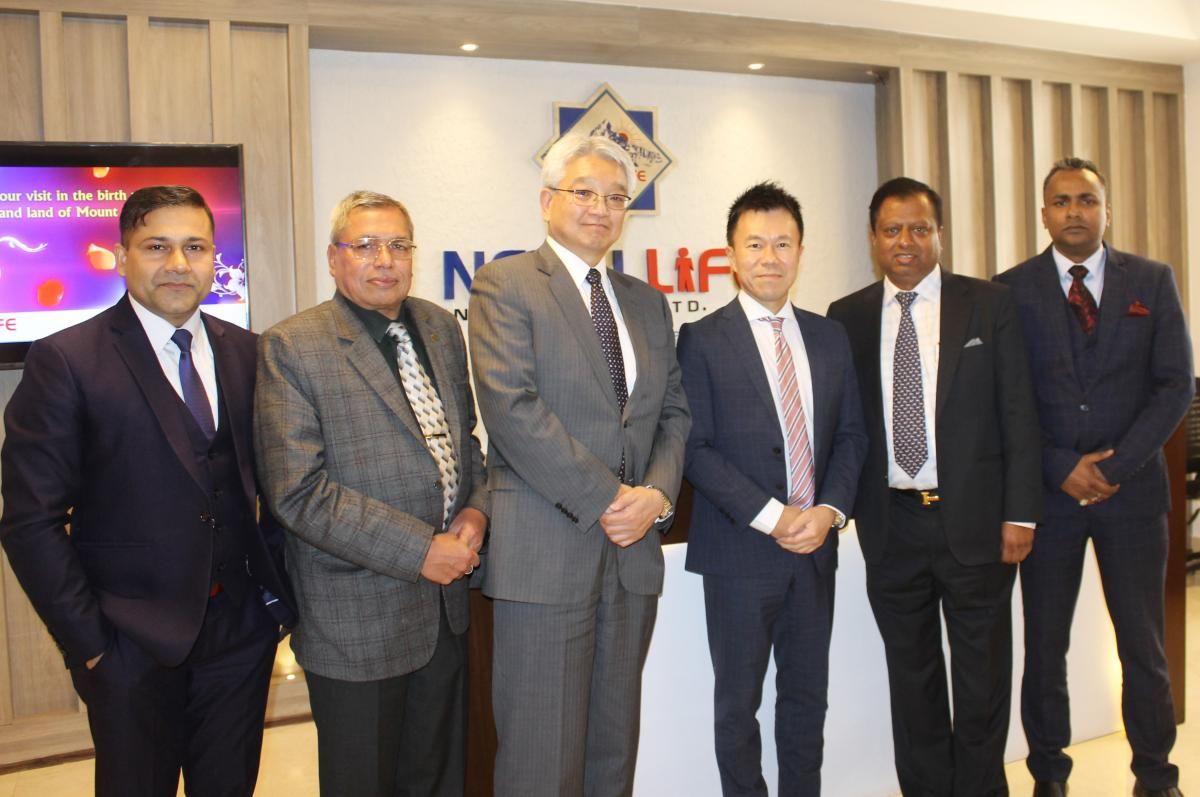 Corporate Meet With Nippon Life Insurance, Japan ...