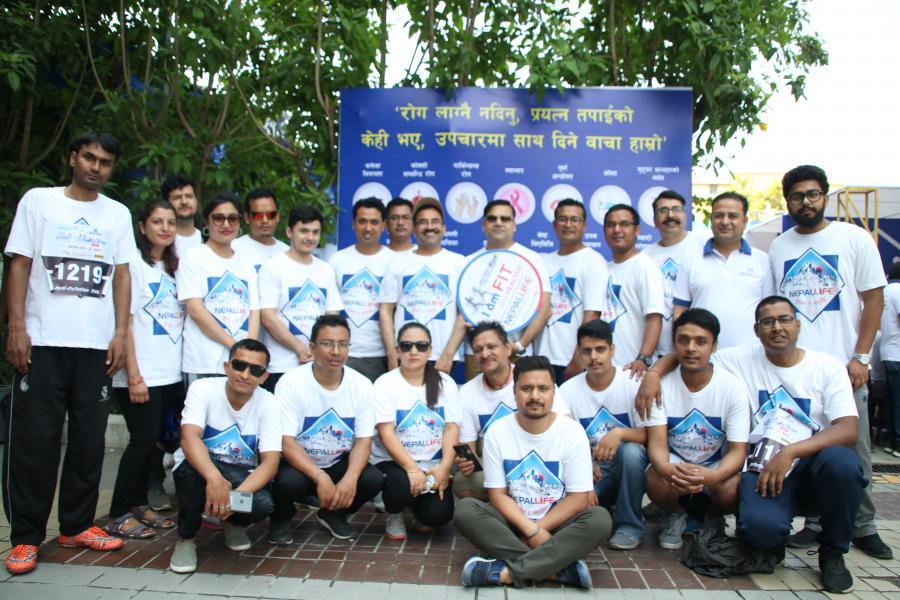 Kantipur Marathon 2019 - Activities - Nepal Life Insurance
