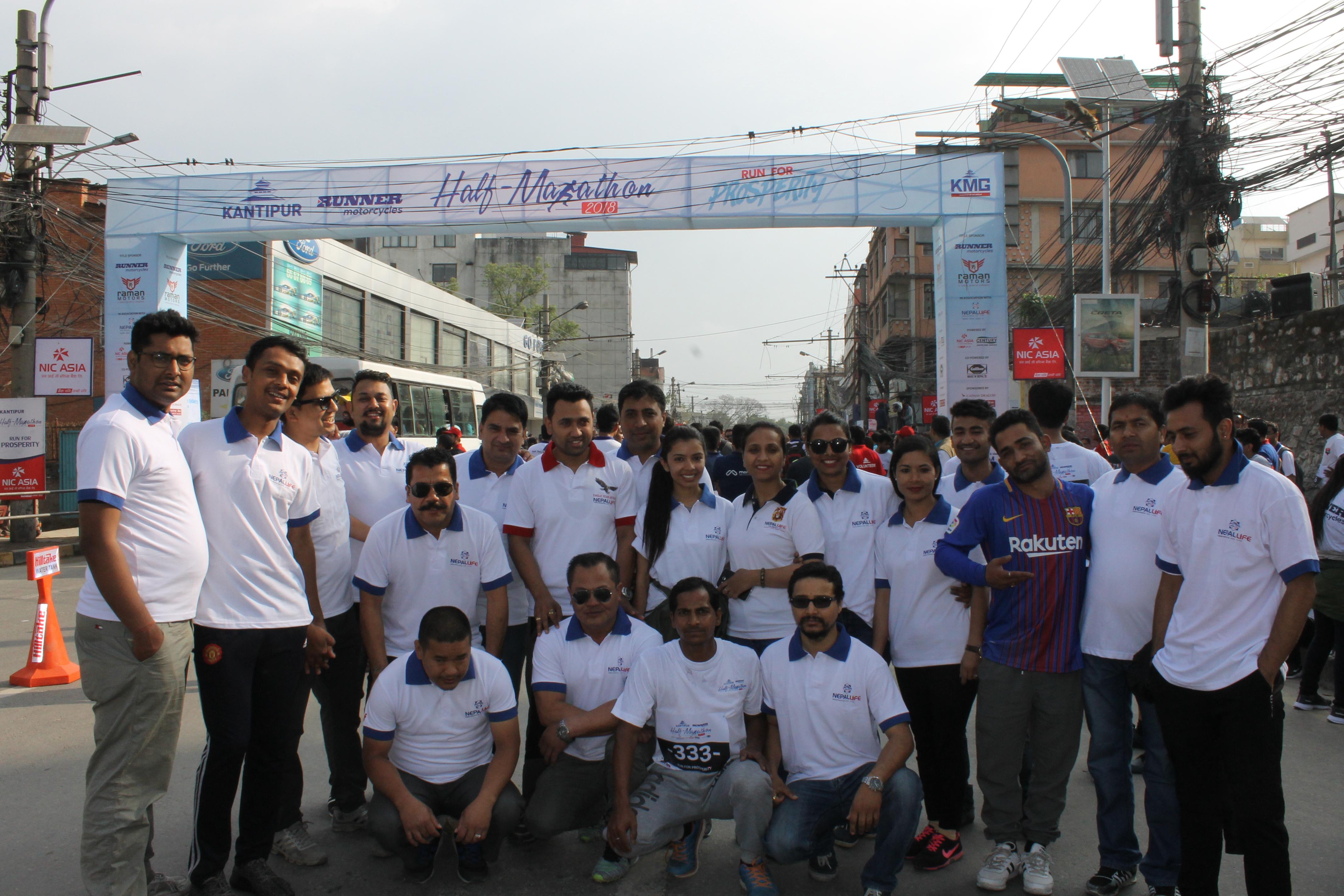Kantipur Half Marathon