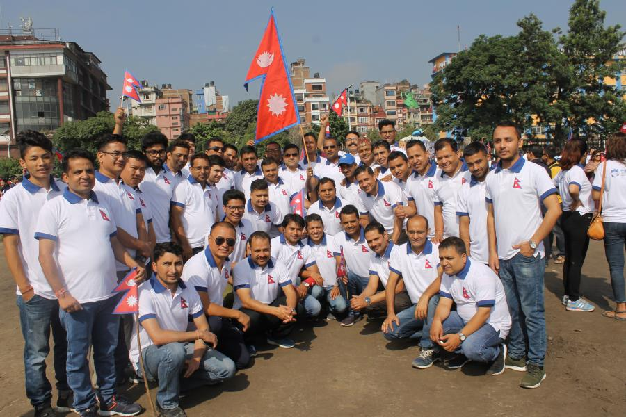 Sambidhan Diwas 2076 - Activities - Nepal Life Insurance