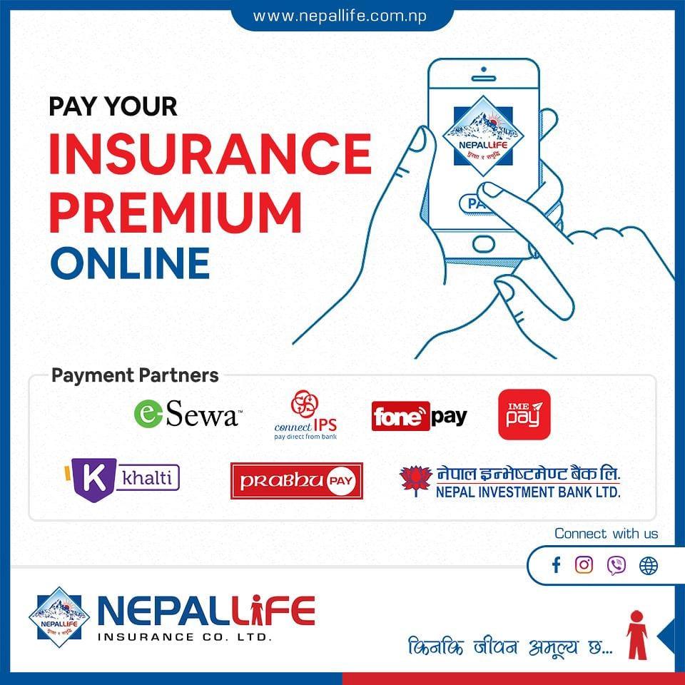 Pay Premium - Nepal Life Insurance